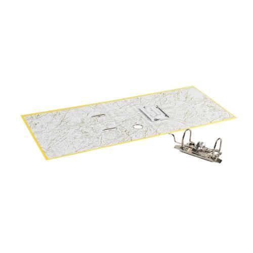 Iratrendező A5, 7,5 cm, álló sárga
