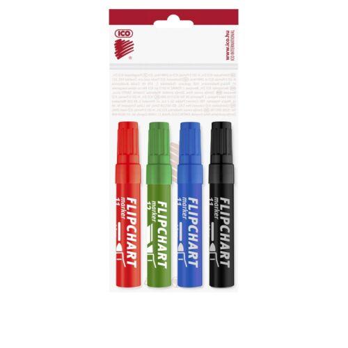Flipchart marker vízbázisú 1-4mm vágott ARTIP 12 4 klf.szín