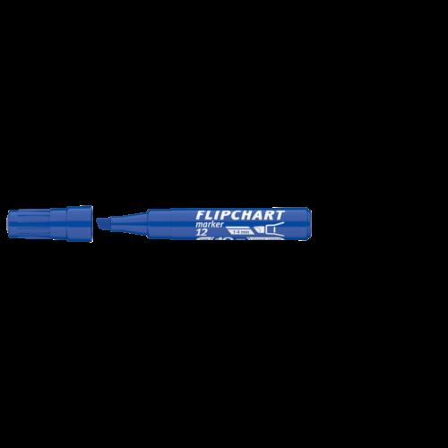 Flipchart marker vízbázisú 1-4mm vágott ARTIP 12 kék