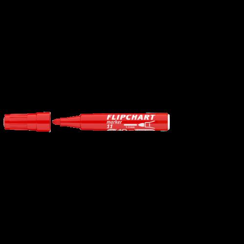 Flipchart marker vízbázisú 3mm kerek ARTIP 11 piros