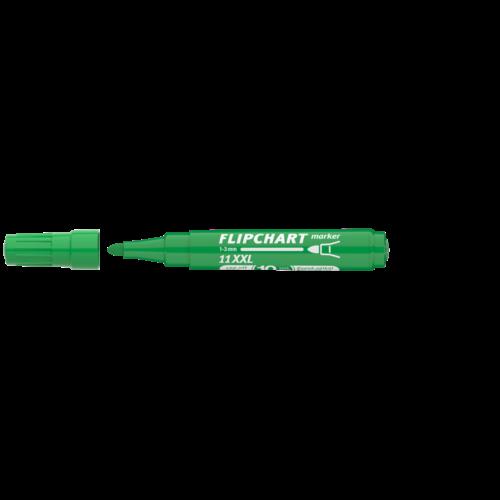 Flipchart marker vízbázisú 3mm kerek ARTIP 11XXL zöld