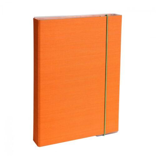 Füzetbox A4 narancs BLUERING