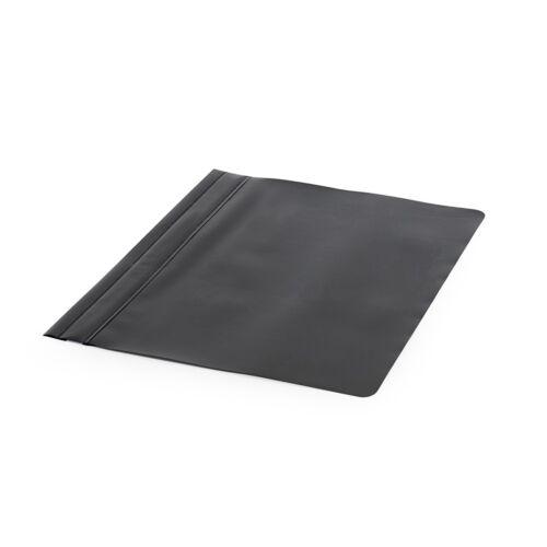 Gyorsfűző műanyag PP A4 fekete darabos
