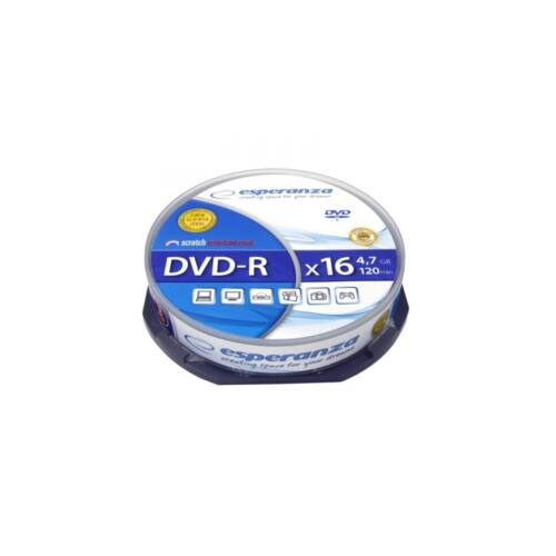 DVD-R 4,7gb 16x cake box10 ESPERANZA 10 db
