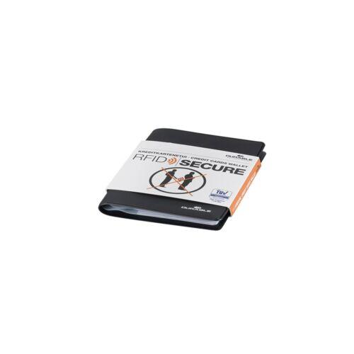 Bankkártya tok 8 db -os belső méret 54x86mm RFID védelem DURABLE