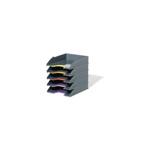 Irattálca szett DURABLE VARICOLOR® , 5 db / csomag, antracit