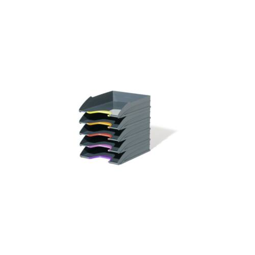 Irattálca műanyag 770557 antracit 5db/szett DURABLE VARICOLOR®