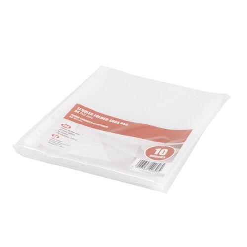 Genotherm lefűzhető, A4 150 micron jumbo katalógustartó REDIN 10 db/csomag