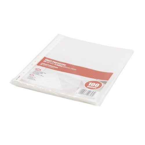 Genotherm lefűzhető, A4 50 micron fényes víztiszta REDIN 100 db/csomag