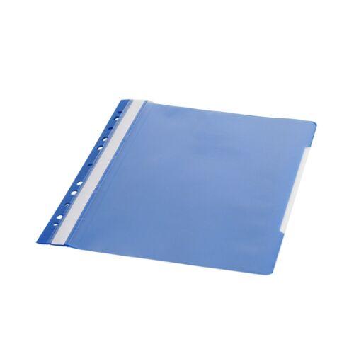 Gyorsfűző lefűzhető A4 PP 11 lyukkal kék 1 db