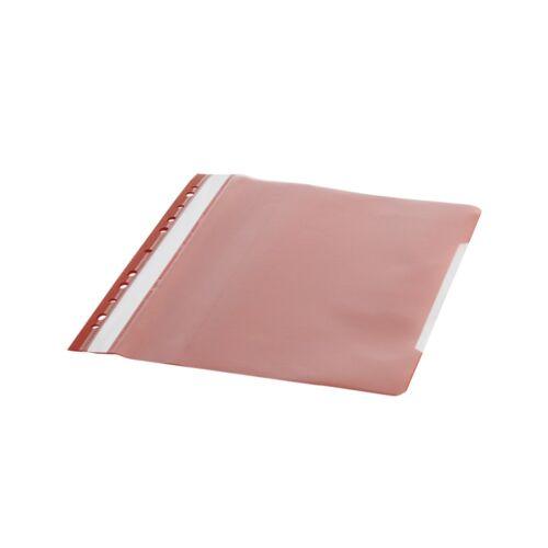 Gyorsfűző lefűzhető A4 PP 11 lyukkal piros 1 db