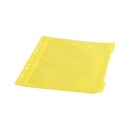 Gyorsfűző lefűzhető A4 PP 11 lyukkal sárga 1 db