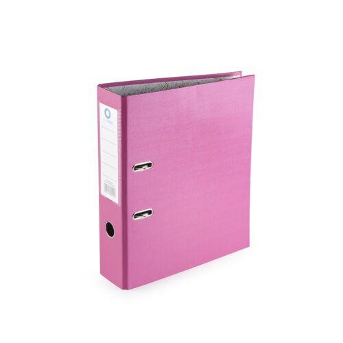 Iratrendező A4, 7,5 cm, BLUERING rózsaszín