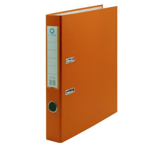 Iratrendező A4, 5 cm, lapraszerelt, BLUERING Eco narancs