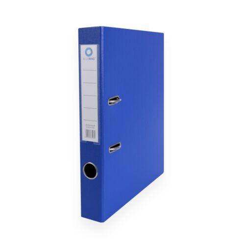 Iratrendező A4, 5 cm, két oldalt PP borítás, BLUERING Premium kék